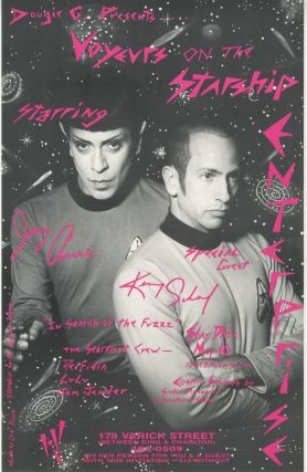 Voyeurs on the Starship Enterprise Starring Joey Arias & Kenny Scharf