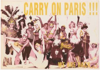 Carry on Paris!! We are Back… / Suzanne [sic] Bartsch Invites You to Release It