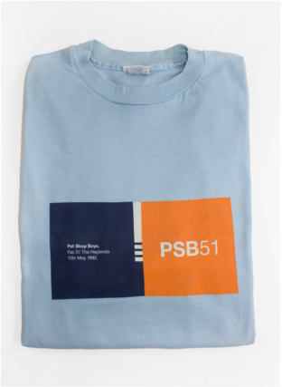Pet Shop Boys T-Shirt. PSB 51
