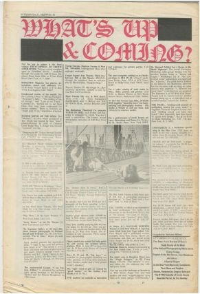 The New York Review of Sex, Vol. 1 No. 1