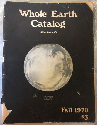 Whole Earth Catalog, Fall 1970. ed Stewart Brand