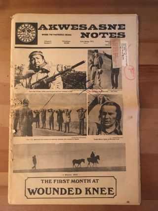 Akwesasne Notes, vol. 5, no. 2, Early Spring 1973