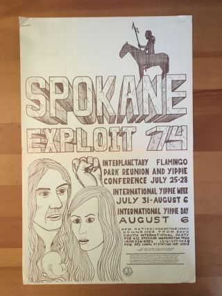 Spokane Exploit '74 Flyers
