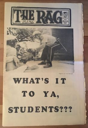 The Rag, vol. 4, no. 6, November 17, 1969