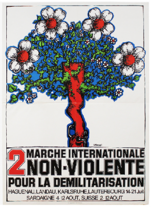 2 Marche Internationale Non-Violente pour la Demilitariasation