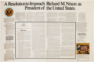 A Resolution to Impeach Richard M. Nixon as President of the United States