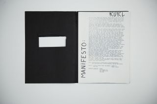 KUKL Handmade Press Kit [early Björk band]