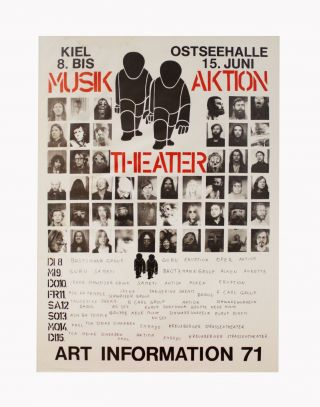 Musik Aktion Theatre: Art Information 71