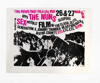 The Nuns, Offs, Sleepers + Screening of Sex Pistols Film at Mabuhay Gardens