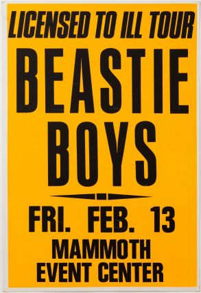 Beastie Boys Licensed to Ill Tour at Mammoth Event Center. Beastie Boys