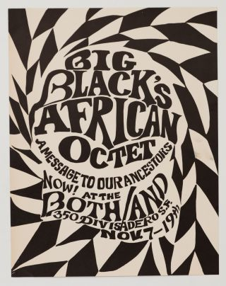 Big Black's African Octet: A Message to Our Ancestors