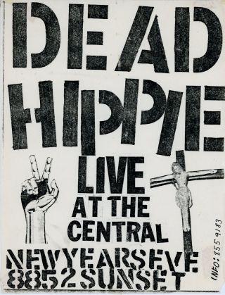 Dead Hippie Live at the Central New Year's Eve. Dead Hippie