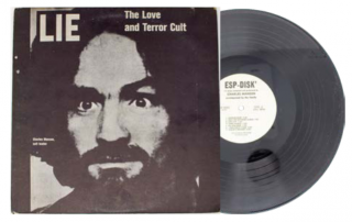LIE: The Love And Terror Cult [Manson Family LP]. Charles Manson