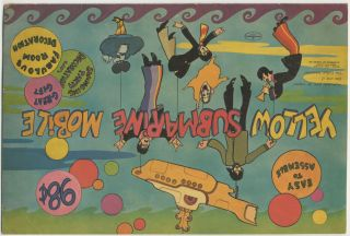 Yellow Submarine Mobile. The Beatles