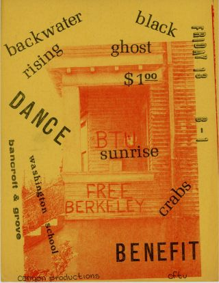 Free Berkeley [Tenant Union Benefit