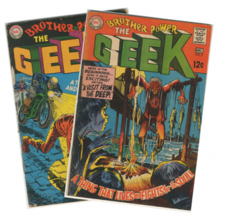 Brother Power the Geek Nos. 1-2 [Complete Run