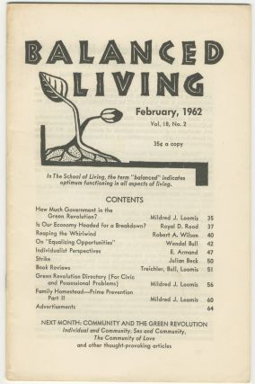 Balanced Living, vol. 18, no. 2