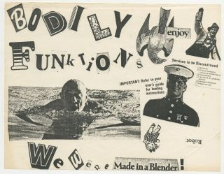 Bodily Funktions [Six Flyers for Fictional Events, Austin Punk]