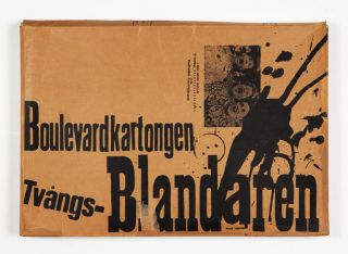 Boulevardkartongen Tvångs-Blandaren [with paintings by Claes Oldenburg]. ed Pontus Hultén