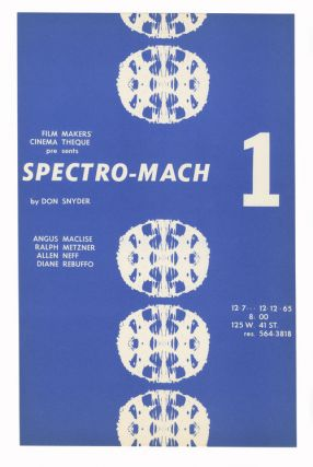 Spectro Mach 1 Flyers. Don Snyder