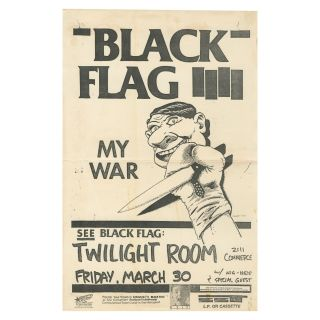 Black Flag – My War – Twilight Room. Raymond Pettibon.