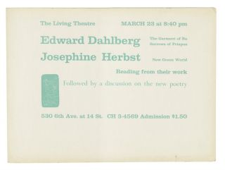 Edward Dahlberg and Josephine Herbst
