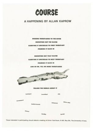 Course: A Happening. Allan Kaprow.
