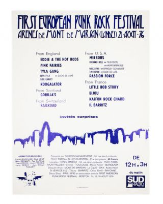 First European Punk Rock Festival