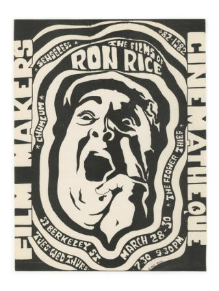 The Films of Ron Rice. Filmmaker's Cinematheque