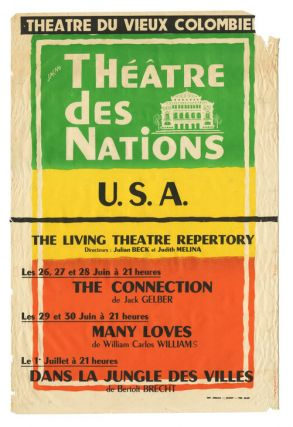 Theatre Des Nations Living Theatre. Marcel Jacno